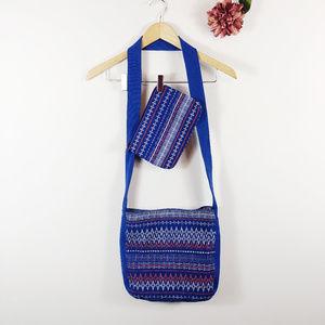 [EDDIE BAUER] Matching Crossbody Bag & Zip Pouch